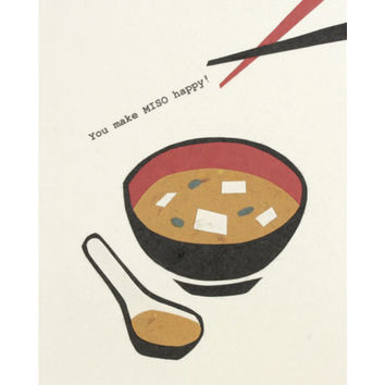 You Make Miso Happy Card - Philippines