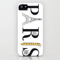 PARIS iPhone Case by R.Bongiovani | Society6