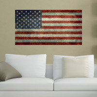 United States of America Flag Wall Sticker Decal by Bruce Stanfield - My Wonderful Walls