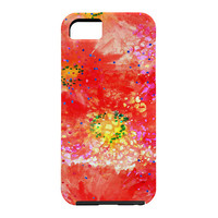 Joy Laforme Amaryllis In Red Cell Phone Case