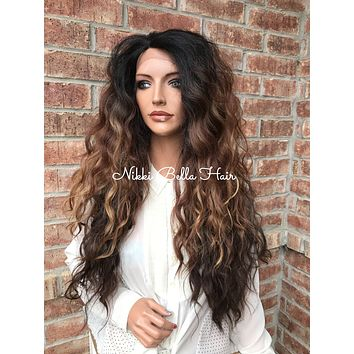 """Maui Beach 26"""" Wavy Lace Front Wig"""