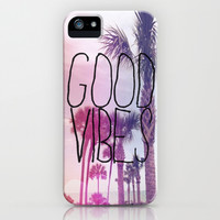 good vibes 2 iPhone & iPod Case by Hannah