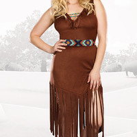 Plus Size Hot On The Trail Costume
