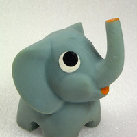 Blue Elephant, Elephants, Bathroom Toys Colorful, blue, Rubber Toy, a Soviet Vintage, 1970's, Soviet Toy, Russian Toy