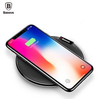Wireless Charging Pad for iPhone X / 8+ and Samsung Galaxy Note 8, S8, S7, S6, Ege