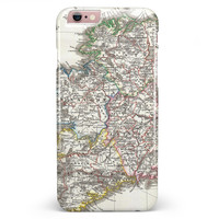 The Vintage Ireland Map  iPhone 6/6s or 6/6s Plus INK-Fuzed Case
