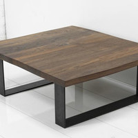 Eco Slab Industrial U-Leg Coffee Table