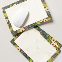 Botanical Weekday Desk Calendar by Rifle Paper Co. Green One Size Furniture