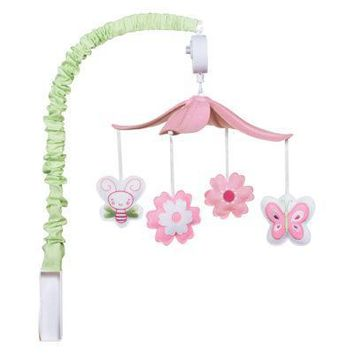 Floral Musical Mobile