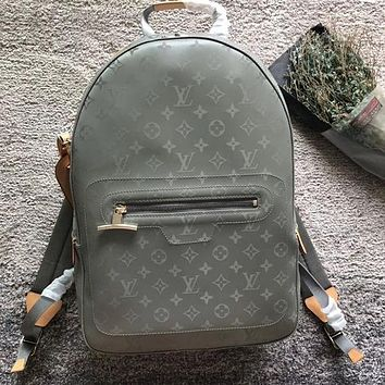 Louis Vuitton LV Monogram Titanium Backpack