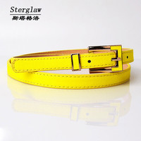 HOT  fashion Candy women belts cintos femininos Slimming leather belt casual jeans female belt cinturon mujer Sterglaw A004