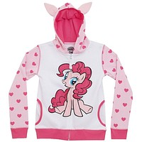 My Little Pony - Pinkie Pie Front Girls Youth Costume Zip Hoodie