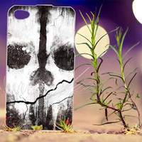 Call Of Duty Ghost - Photo Print for iPhone 4/4s, iPhone 5/5s/5C, Samsung S3 i9300, Samsung S4 i9500 Hard Case