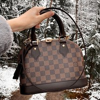 LV Louis Vuitton Shell Bag Handbag Shoulder Bag