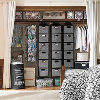 Rotating Hanging Closet Storage