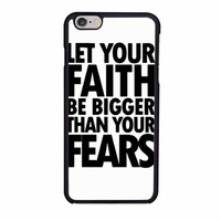 faith cute inspirational quote iphone 6 6s 4 4s 5 5s 6 plus cases