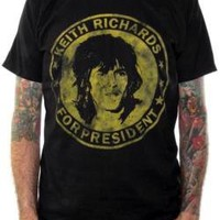 Rolling Stones T-Shirt - Keith Richards For President