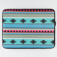 "Tribal Stripe 15"" Laptop Sleeve Multi One Size For Men 22436595701"