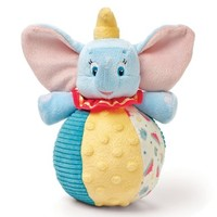 Disney Baby Dumbo Chime Ball - Encourages Roleplay, Creativity, and Imagination - Safe and Asthma Friendly