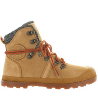 Palladium Pallabrouse Hiker LP - Amber Gold/Red/Gum Leather/Textile Hiking Boot