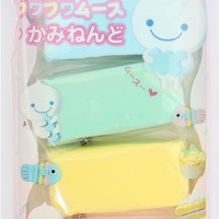 Fuwa Fuwa paper clay Japan decoden 4 colours - Clay - Arts and Crafts