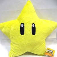 Super Mario Brothers : Star Starman Plush - 11""