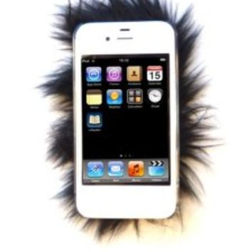 Furrywraps, Furry Iphone 4 4s Case Cover Black