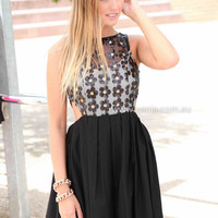 SEEING STARS DRESS , DRESSES, TOPS, BOTTOMS, JACKETS & JUMPERS, ACCESSORIES, 50% OFF SALE, PRE ORDER, NEW ARRIVALS, PLAYSUIT, COLOUR, GIFT VOUCHER,,Print,LACE,Sequin,SLEEVELESS,Black,MINI Australia, Queensland, Brisbane