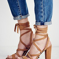 Free People Ella Strappy Heel