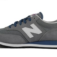 New Balance for Women: CW620CSC Steel, Chambray, and White Sneakers