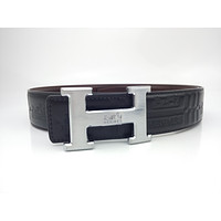 Hermes business casual I-buckle trend belt for men and women