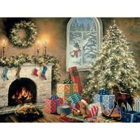 """Bits and Pieces """"Not a Creature Was Stirring"""" Christmas Puzzle - Puzzle Haven"""