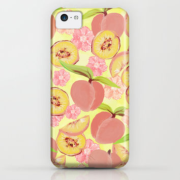 Peaches iPhone & iPod Case by Lisa Argyropoulos | Society6