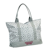 Mississippi State Bulldogs NCAA Ikat Tote