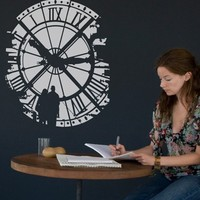 Blik Wall Decals: Time Fades by Threadless