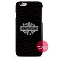 Harley Davidson Metal Logo iPhone Case 3, 4, 5, 6 Cover