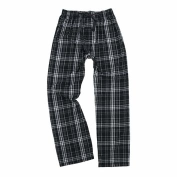 Boxercraft Black and Grey Flannel Pant