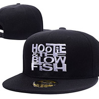 KIMUS Hootie And The Blowfish Band Logo Adjustable Snapback Embroidery Hats Caps