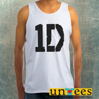 One Direction Logo Clothing Tank Top For Mens