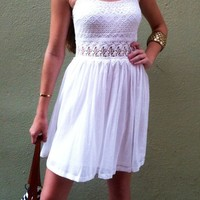 White Summer Love Dress