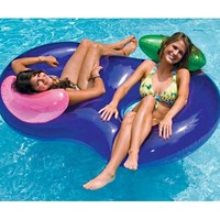 Side by Side Inflatable Pool Lounger