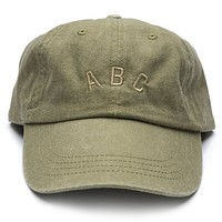 ABC Dad Hat - Khaki