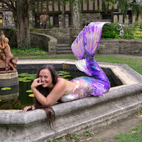 Custom Made Swimmable Silicone Mermaid Tail