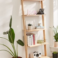 Leaning Book Shelf | Urban Outfitters