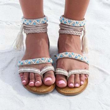 NOT RATED Macramela Sandal