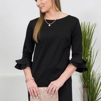 The Jackie Classic Black Dress