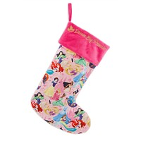 Disney Parks Dream Big Princess Holiday Christmas Stocking New with Tag