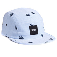 HUF - EMBROIDERED PLANTLIFE VOLLEY // BLUE OXFORD