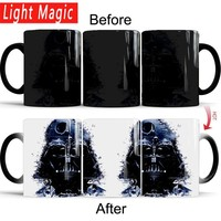 Star Wars Force Episode 1 2 3 4 5  mug death Heat Reveal Mug Color Change Coffee Cup Sensitive Mugs Magic Mug Milk Tea Cups best gift for your friend AT_72_6