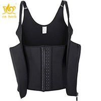 Cn Herb Waist Trainer Corset Vest Women Shapewear Tummy Control Body Slimmer For Weight Loss Free Shipping